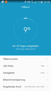 screenshot akkulaufzeit xiaomi mi band